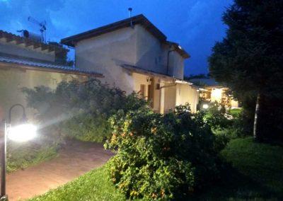 Instalación eléctrica y mantenimiento Aparthotel jardín del Río Cuervo (Cuenca)